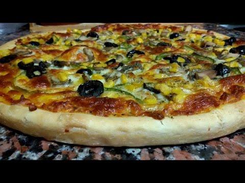 طريقة عمل عجينة البيتزا الطليانية الايطالية الأصلية