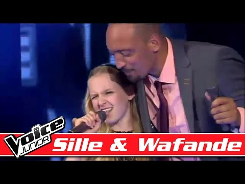 Sille & Wafande synger Ray Charles - Hallelujah, I love her so - Voice Junior - Finalen