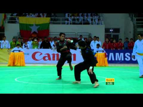 27th SEA GAMES MYANMAR 2013 - Pencak Silat S1 10/12/2013