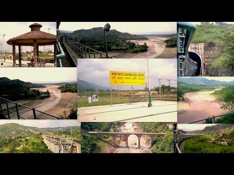 KATRA - UDHAMPUR - JAMMU | Train from Shri Mata Vaishno Devi KATRA | Departure from KATRA Station