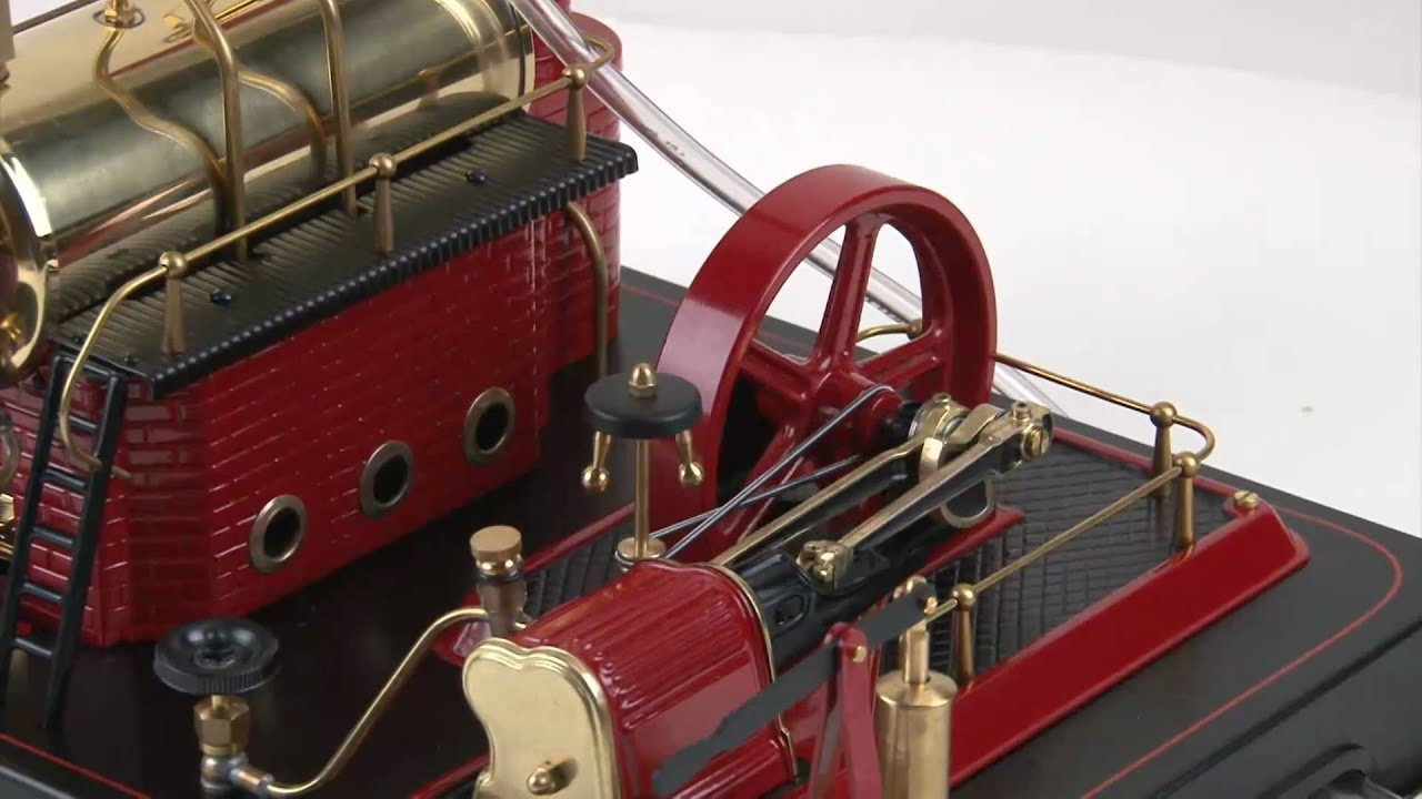 Wilesco D21 Steam Engine - YouTube