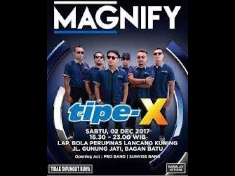 Tipe-X  Mawar Hitam  Live In Bagan Batu, Riau 02 Des 2017