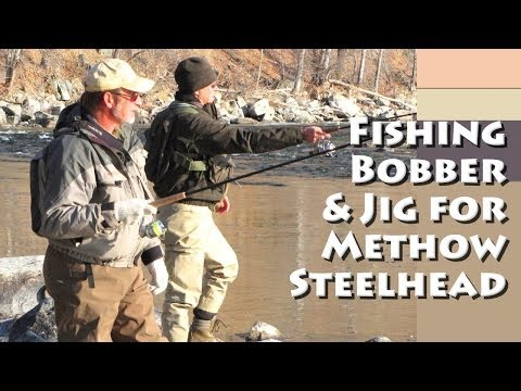 Fishing Bobber and Jig for Methow Steelhead
