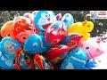 Banyak Penjual Balon Mainan, [video]