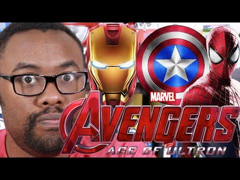 AVENGERS Age of Ultron Trailer & SPIDER-MAN Avengers 3? : Black Nerd