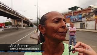 Desperate, Venezuelans Looking for Transportation Turn to Cattle Trucks