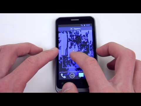 Дуалсим-смартфон ZTE V880E