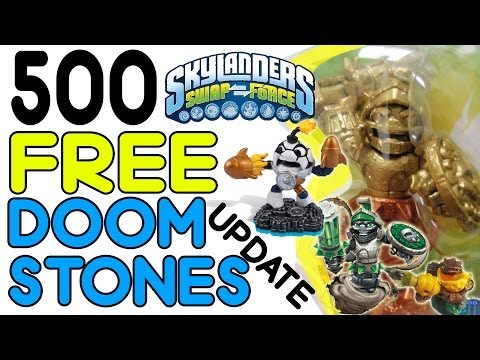 500 FREE Doom Stones' Giveaway + Kick Off Countdown Pics (Skylanders Swap Force Update)