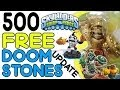 500 free doom stones' giveaway + kick of...