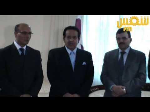 image vidéo Ali Laarayedh reçoit l'offre Qatari au ministère de l'intérieur