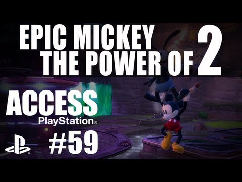 PlayStation Access TV 59 - Epic Mickey 2! Far Cry 3! Access Live 2012!