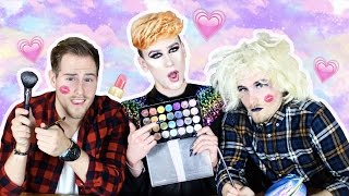 BEAUTYQUIZ + SCHMINK BESTRAFUNG mit TWIN.TV ♡ | Marvyn Macnificent