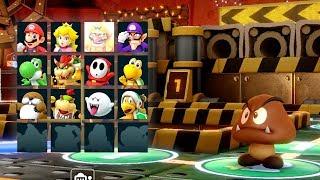 Super Mario Party - King Bob-omb's Powderkeg Mine (Part #1) | Mario Gamers