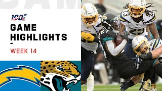 Chargers vs. Jaguars Week 14 Highlights | NFL 2019
