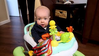 Baby Jackson Roloff Snacks And Plays As He Starts His Day