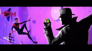 Noir Rubik's Cube scenes (Spider-Man Into the Spider-Verse)