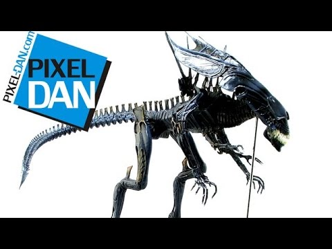 NECA Aliens Deluxe Alien Queen Action Figure Video Review