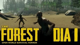 The Forest (v0.02) |  #1 | ¡Caníbales! Salí vivo de milagro xD