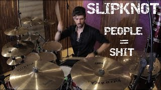 "download lagu Slipknot - ""people = Shit"" Drum Cover gratis"