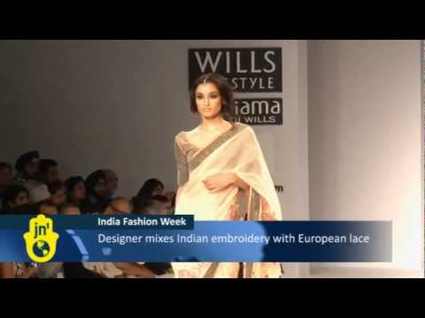 Indian designers mix old and new at latest Indian Fashion Week