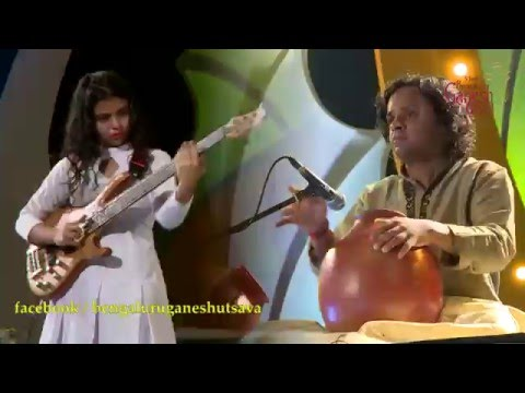 "Download ""Maha Ganapathim"" Cassical Fusion song @ 53rd Bengaluru Ganesh Utsava..!!! Mp4 baru"