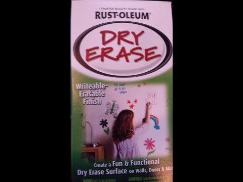 RUST OLEUM Whiteboard Review
