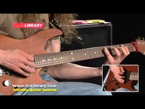 Guthrie Govan - Playing In The Style Of Jimi Hendrix - Session 12 Licklibrary