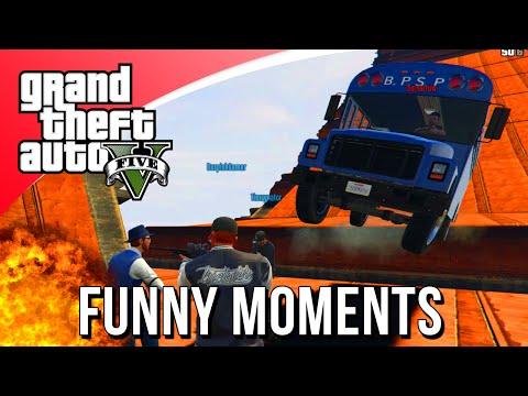 BUS BOWLEN IS VET! (GTA V Funny Moments)