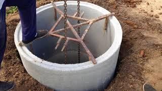 Как вытащить кольца из колодца своими руками 64