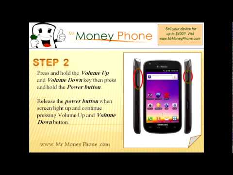 HARD RESET Samsung Galaxy S Blaze 4G (external) Master Reset (RESTORE to FACTORY condition) Video