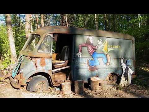 'American Pickers' discover Aerosmith's van from 1970s in Massachusetts woods