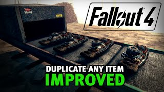 Fallout 4 - Duplicate ANY Item Glitch! IMPROVED! (After Patch 1.7/1.10)