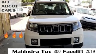 2019 Facelift Tuv300   Variants   Price   Features   ALL ABOUT CARS