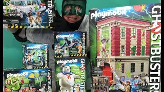 Ghostbusters [Playmobil] Alle Set's Review