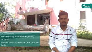 National Institute of Foundry and Forge Technology, Ranchi - College Review by the Students