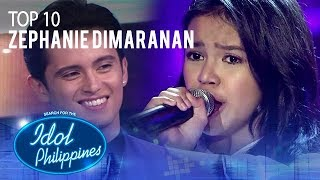 "Zephanie Dimaranan performs ""Salamat"" 