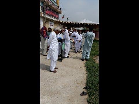 Parcham Kushaeii Majlis e Azza at Markazi Imam Bargah Sarpak  Chakwal