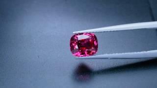 Gemsthailand -  2.02 CT CERTIFIED TOP RARE NEON PINK COLOUR JEDI MOGOK SPINEL