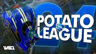 POTATO LEAGUE #24   Rocket League Funny Moments & Fails