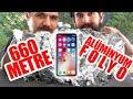 660 Metrelik Dev Alüminyum Folyo Topunun İçine iPhone X Koyduk! (Telefon Çekecek mi?)