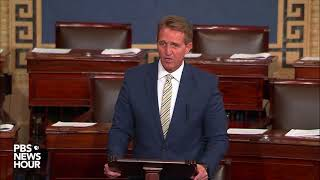 WATCH: Sen. Jeff Flake discusses Trump administration on Senate Floor