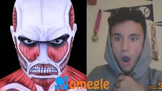 The Colossal Titan goes on Omegle!