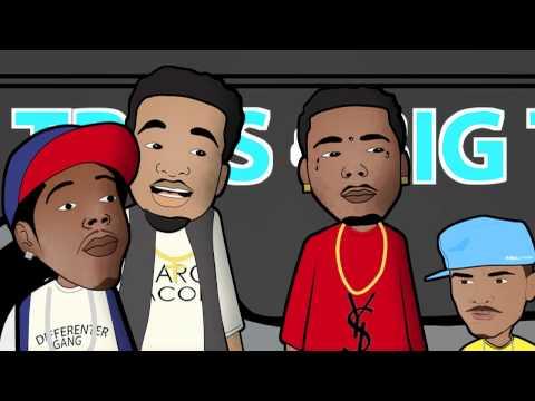 Travis Porter Cartoon - Road Trips N Big Tits Episode 1 Ft. Big Sean & Ray J video