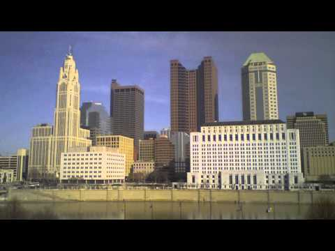 Columbus Skyline Timelapse: View from COSI