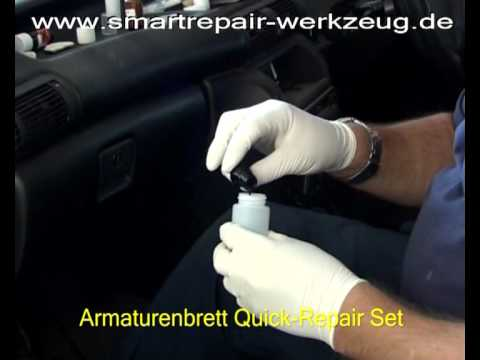 smartrepair reparatur am armaturenbrett im pkw youtube. Black Bedroom Furniture Sets. Home Design Ideas