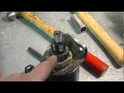 Lawn Tractor Starter Gear Repair with Briggs & Stratton Engine