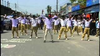 ICC World Twenty20 Bangladesh 2014 Kushtia Zlla School, Flash Mob