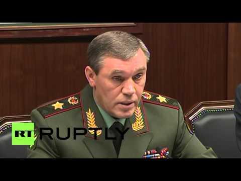 Russia: Austria and Russia's chiefs of general staff discuss terrorism, Syria