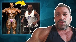 Ronnie Coleman [The King 👑] Do trono à cadeira de rodas!