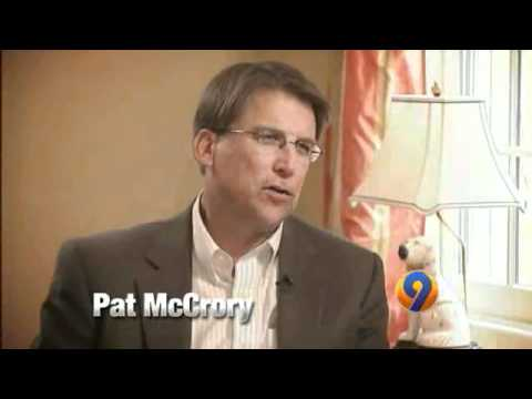 Blair interviews Pat McCrory and this was our promotional spot for the story ...